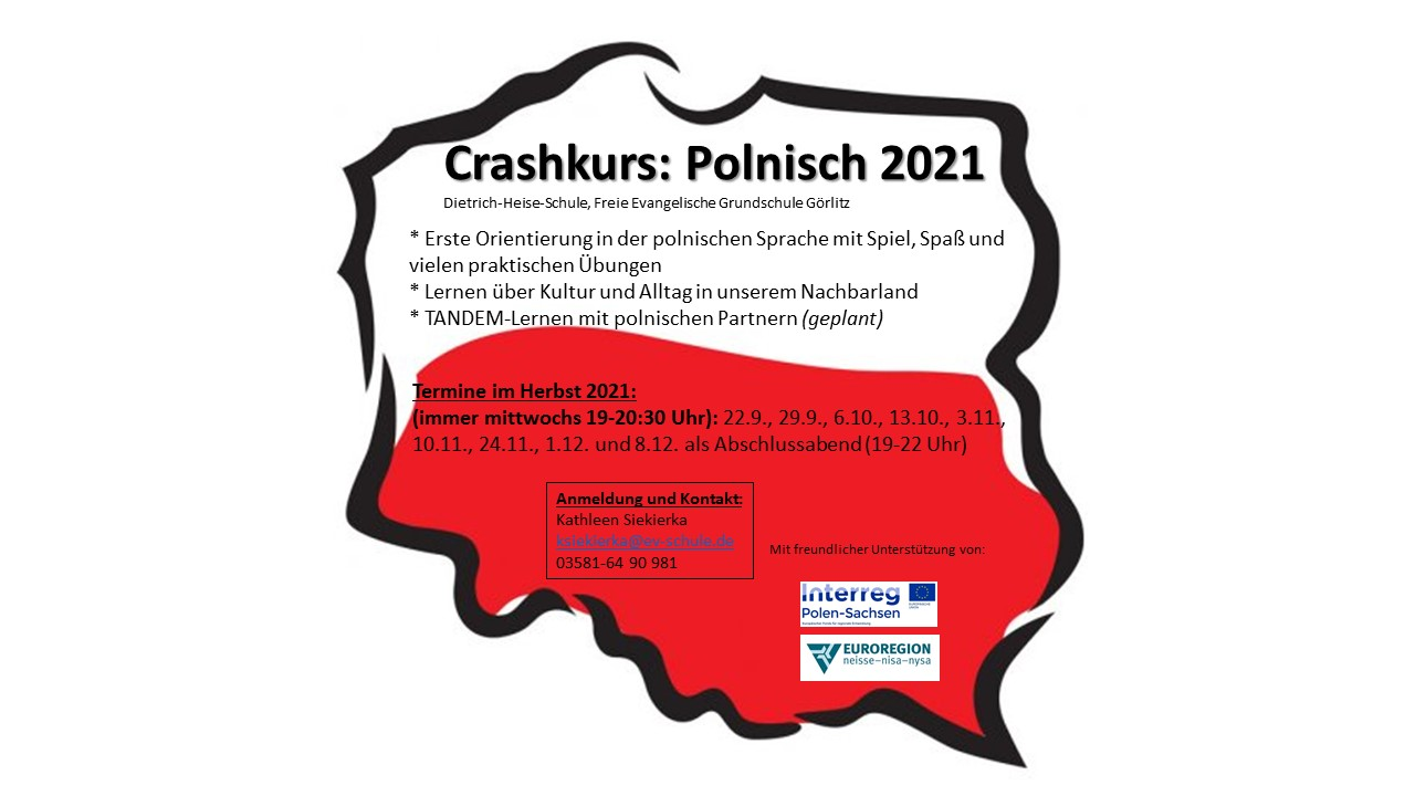 Flyer Crashkurs 2021